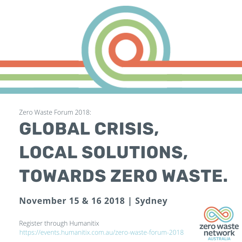 Zero Waste Forum flyer